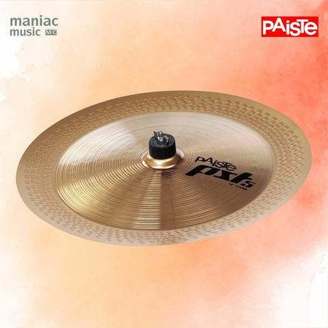 "Paiste PST 5 China 18"" (Cymbal, Trashy, Medium To Very Loud, Sharp, Cut)"