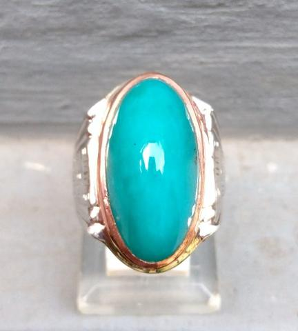 Natural Bacan Palamea Model Antik Dim 24.5 mm