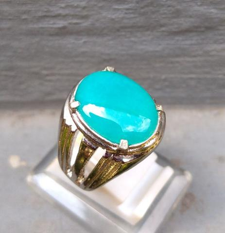 Natural Bacan Doko Bluish Dim 15 mm