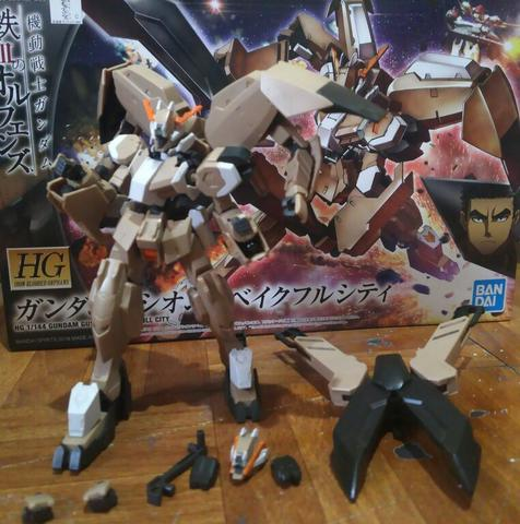 Gundam Gunpla Kondisi Rakit - Gusion Rebake Full City & Build Custom Giant Gatling