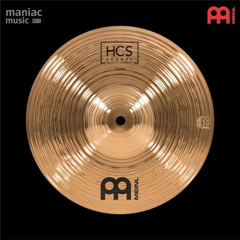 """Meinl HCSB10S (Cymbal, Splash, 10"""", B8 Bronze, Made In Germany, Fast Accent)"""