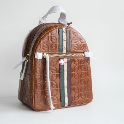 Fossil Megan Backpack Brown Muti