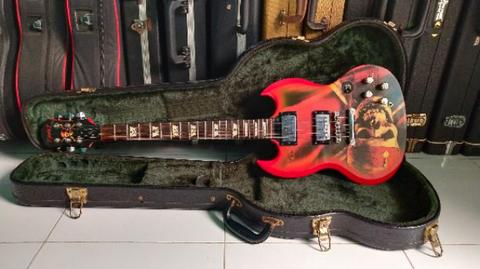 Gitar Epiphone SG DISNEY Pirates of the Caribbean Limited Edition not gibson ibanez