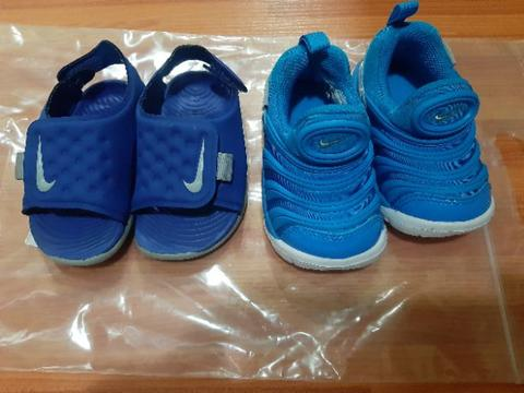 Nike Kids Shoes and Sendal