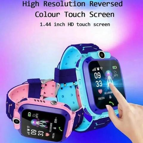 Smartwatch Anak Q12 Anti Air - Jam Tangan GPS Tracker Anak