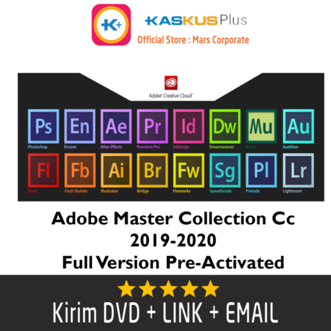 Adobe Master Collection Cc 2019-2020 Full Version PreActivated