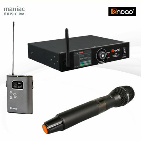 Enbao A3S (Wireless System, Paket, Microphone, Receiver, Transmitter, One Channel)