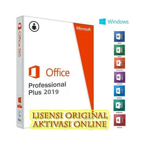 PROMO Microsoft Office 2019 Pro Plus Lisensi Original Update Online