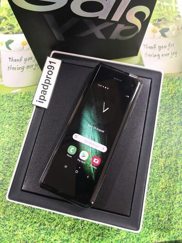 Samsung Galaxy Fold 512gb Space Silver Global Aktif Fullset Ori COD Bandung