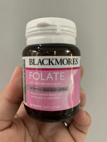Blackmores Pregnancy Folate Folic Acid 500 - 90 Tablet