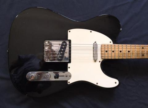 Squier Affinity Telecaster made in china 2012 Black Maple