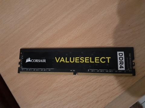 RAM DDR4 4GB Corsai Value Select 4 GB 2133