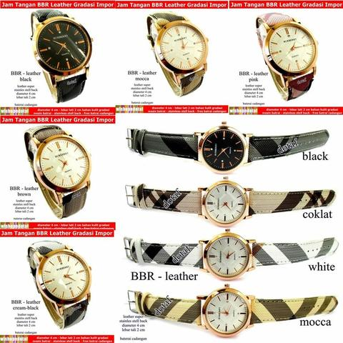 Jam Kulit BBR Gradasi Leather