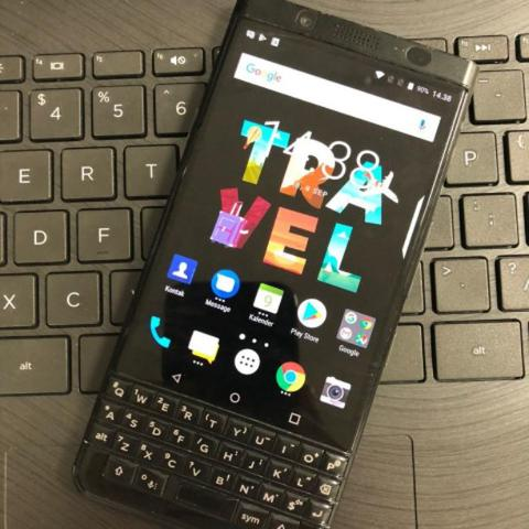 Blackberry keyone unit casan