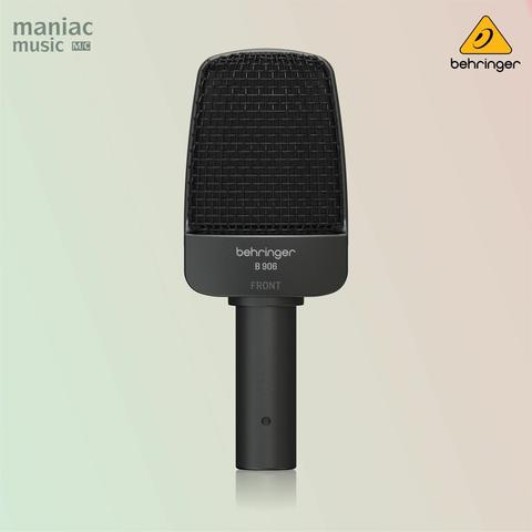 Behringer B 906 (Dynamic Microphone, Supercardioid, Instrument, Vocal, Professional)