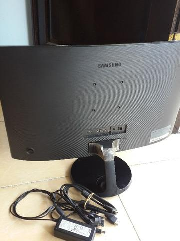 Monitor LED Samsung 24inc Curved