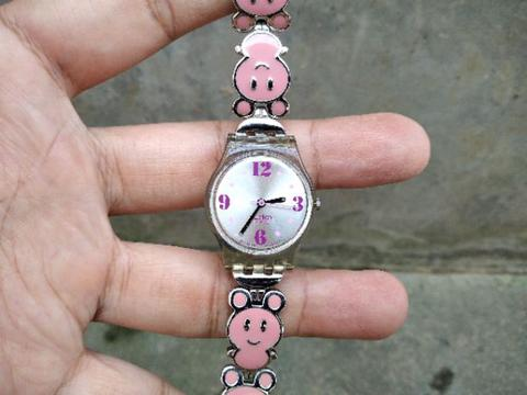 Jam Tangan SWATCH Ladies Pink