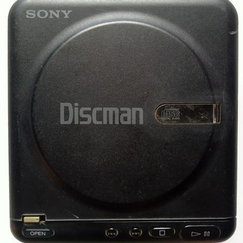 [good condition] Discman Sony D-20 hitam made in Japan