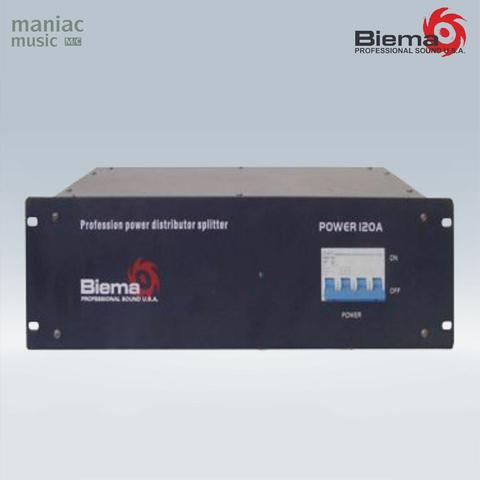 Biema Power 120A (Power Distributor, Splitter, 6 Output Interface, Easy To Operate)