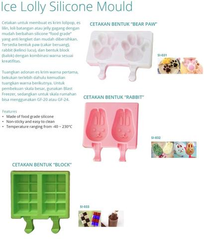 ICE LOLLY SILICONE MOULD (Sl-031)