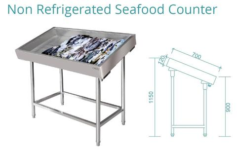 NON REFRIGERATION SEAFOOD COUNTER(SFC-120)