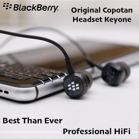 Original Blackberry Keyone Bass Earphone Premium Stereo Headset