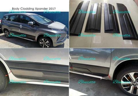 Side Body Cladding Xpander 2017 - UP/ List Samping Moulding Lis Plastik