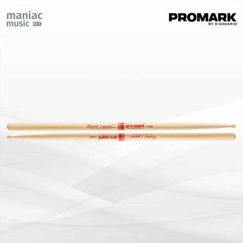 Promark TX733W (Stick Drum, Hickory, 733 Michael Carvin, Wood Tip)