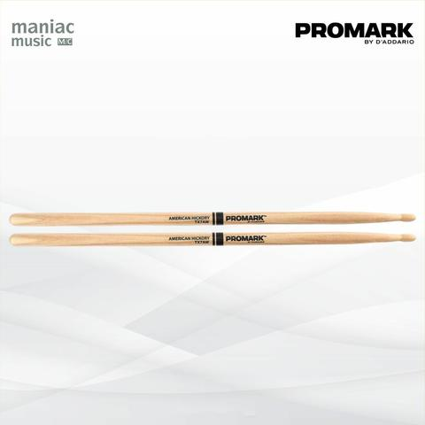 Promark TX7AW (Stick Drum, American Hickory, Wood Tip, Jazz, USA)