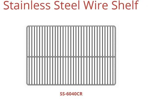 STAINLESS STEEL WIRE SHELT(SS-6040CR)
