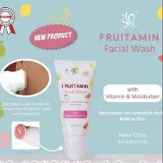 SABUN SYB FRUITAMIN FACIAL WASH