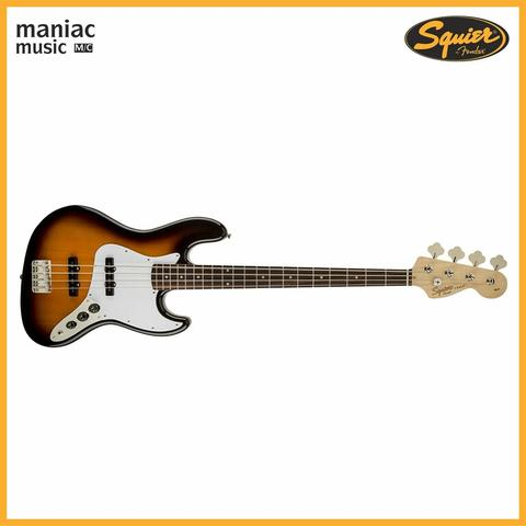 Squier Affinity Jazz Bass Brown Sunburst (4 Senar, Rosewood, 20 Fret, Right Handed)