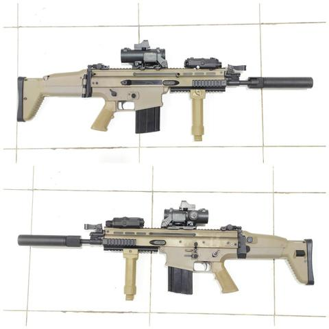 AEG Rifle SCAR H Dboys MK17 Mod 0 Tan