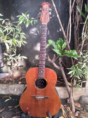 Ovation ultra deluxe 1517s natural