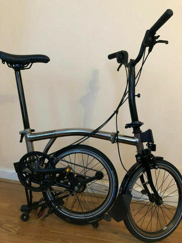Brompton M6L Nickle Black Edition