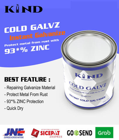 KIND Cold Galvz - Alternative repair hotdip