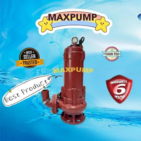 Pompa Celup Air Kotor Limbah Industri 30Kw 3Phase 10Inch Submersible