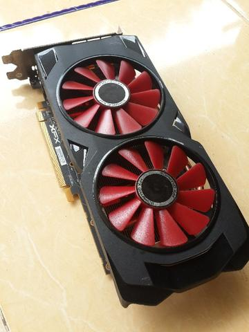 VGA AMD RX 570 4gb 256bit DDR5 DX12 XFX