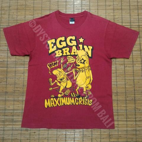 T-shirt Band Egg Brain - Maximum Crisis