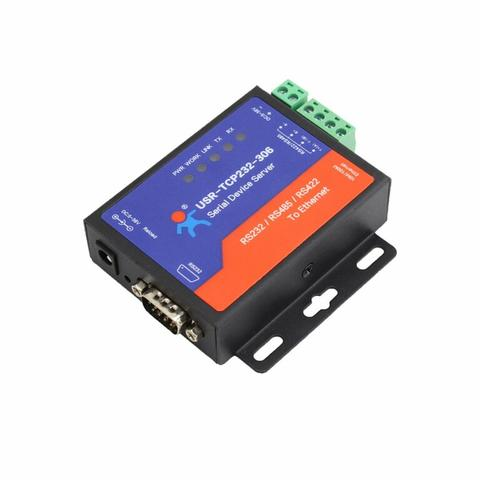Converter Serial RS232 RS485 RS422 to TCP IP Ethernet