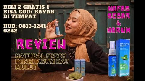 [ BELI 2 GRATIS 1 ] NATURAL FRESH BAU MULUT, 0813-1241-0242