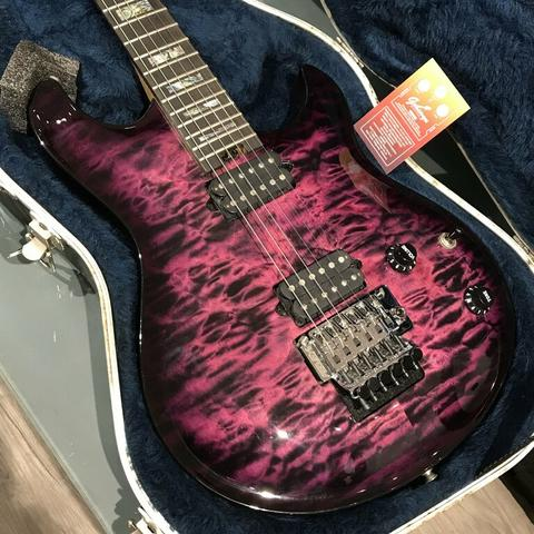 BEKAS 2006 PEAVEY HP USA CUSTOM SHOP BLACK VIOLET CT QUILT