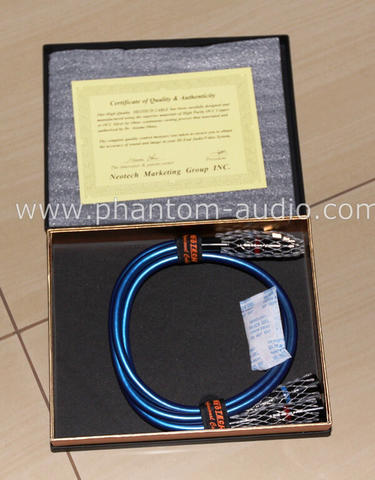 High End Audio Cable : Neotech NEI-3001 Copper Series