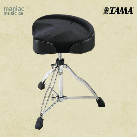 Tama HT530C Wide Rider (Kursi Drum, Throne, Cloth Top, Adjustable, Nyaman)