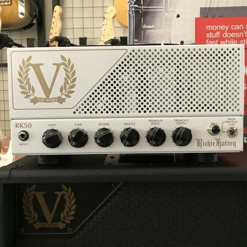VICTORY AMPS MADE IN ENGLAND : VICTORY RK50H RICHIE KOTZEN SIGNATURE HEAD