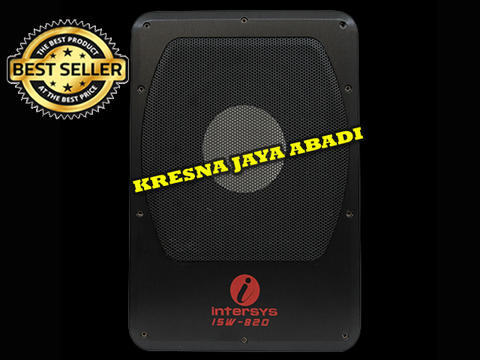 SUBWOOFER AKTIF INTERSYS 8INCH