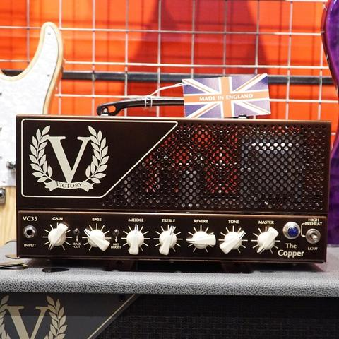 VICTORY AMPS MADE IN ENGLAND : VICTORY VC35 THE COPPER HEAD