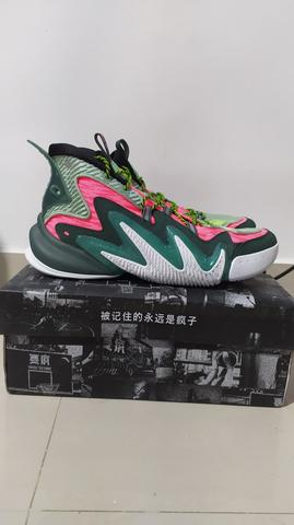 Sepatu Basket Anta Shock The Game Crazy Tide