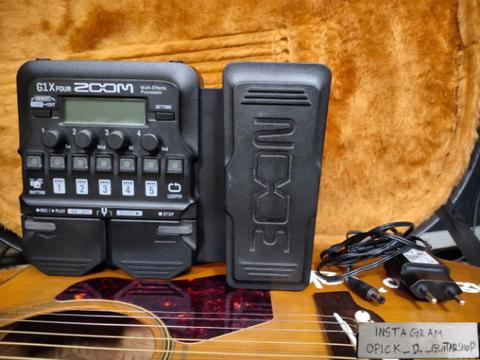 efek gitar/guitar Zoom G1X Four mantul