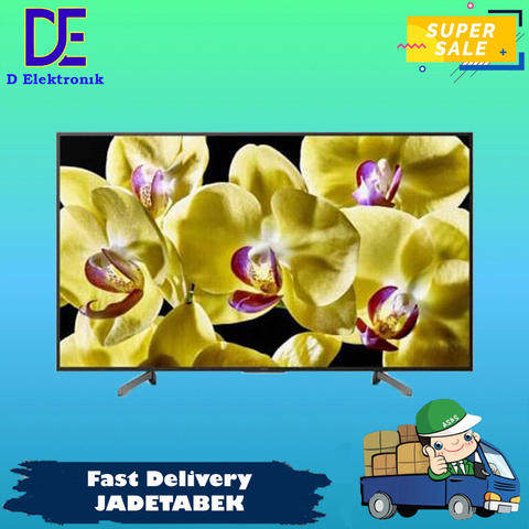 PROMO LED TV SONY 49 INCH KD-49X8000G KD49X8000G ULTRA HD 4K ANDROID TV 16 GB
